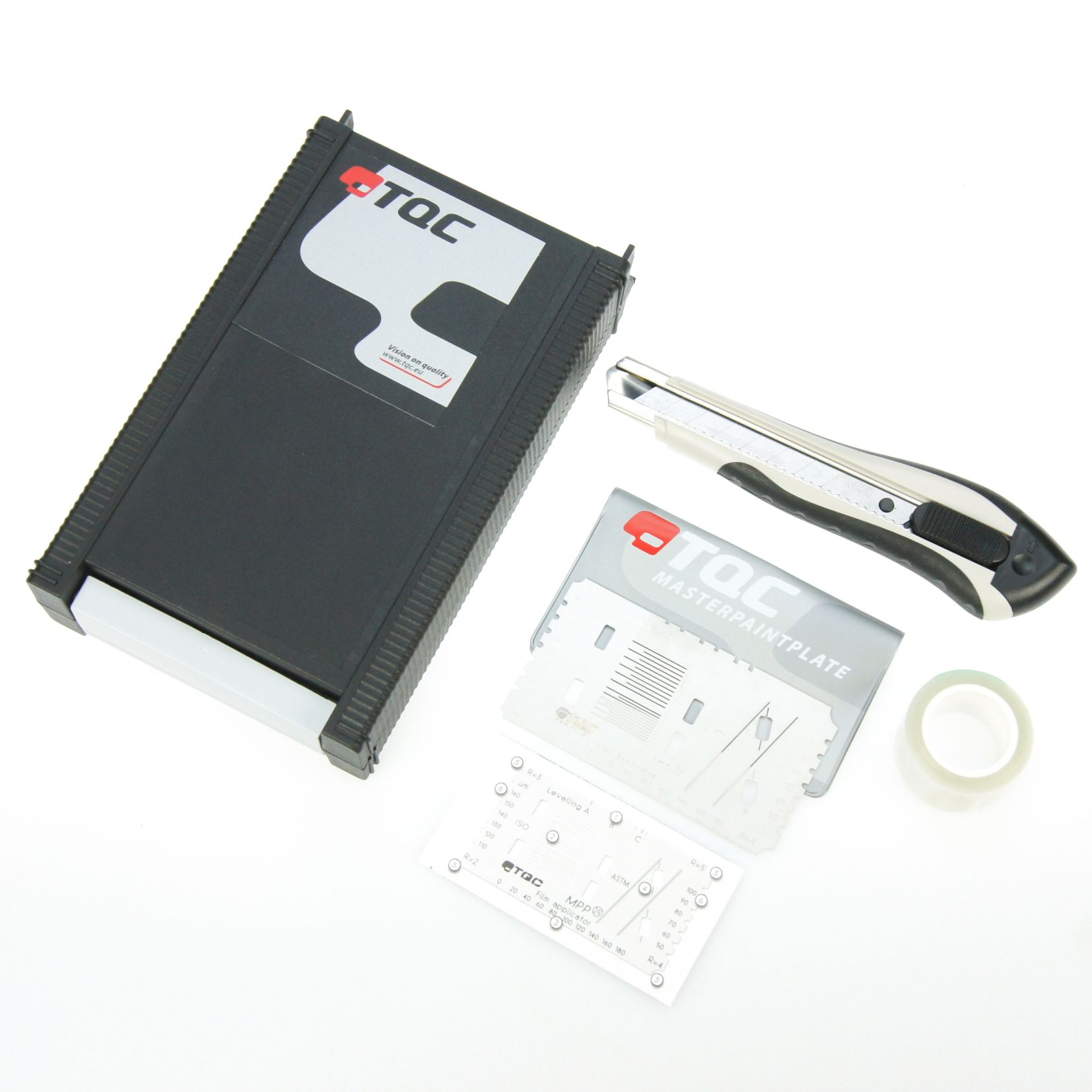 TQC Cross Cut Adhesion Test KIT (Master Paint Plate)