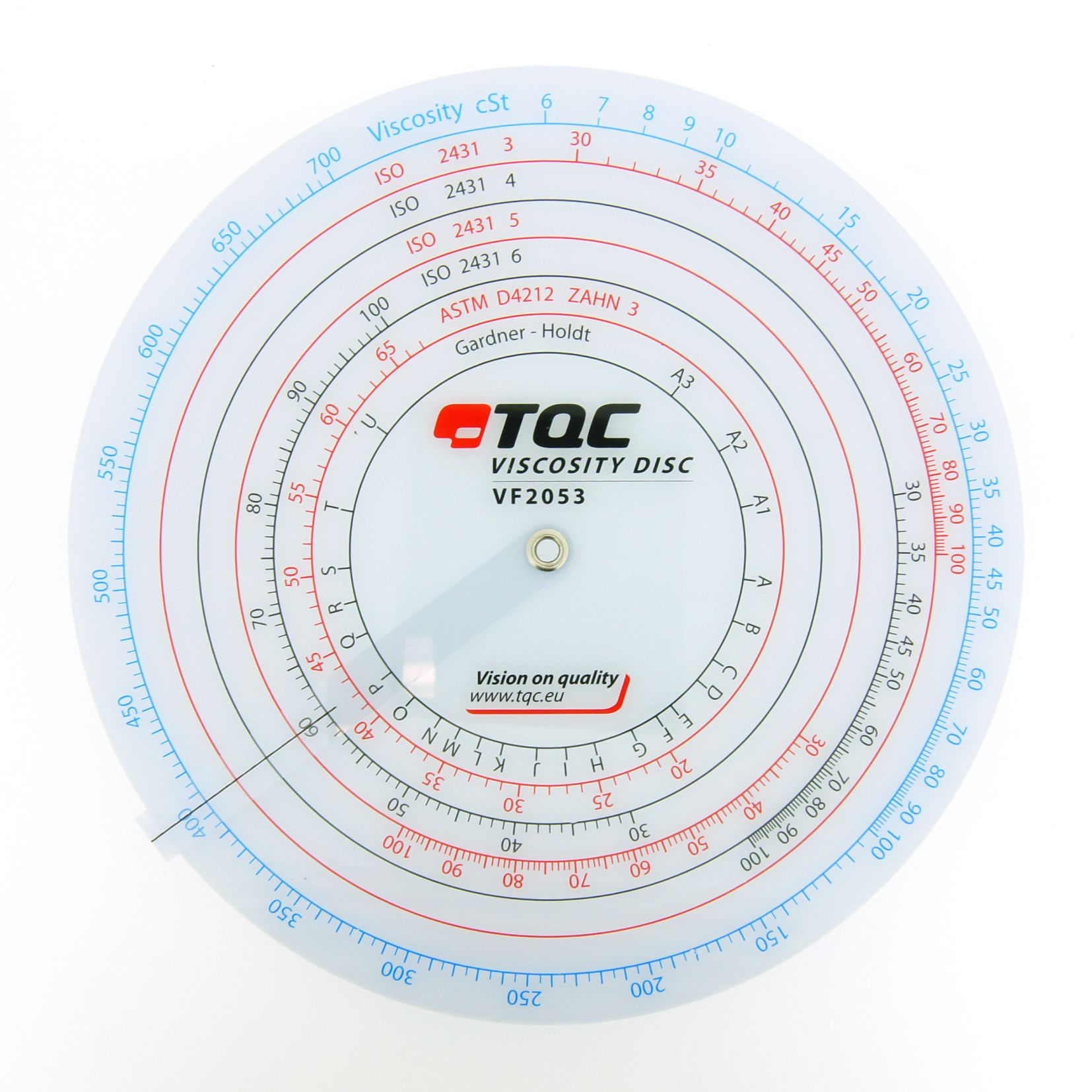 TQC Viscosity Disc