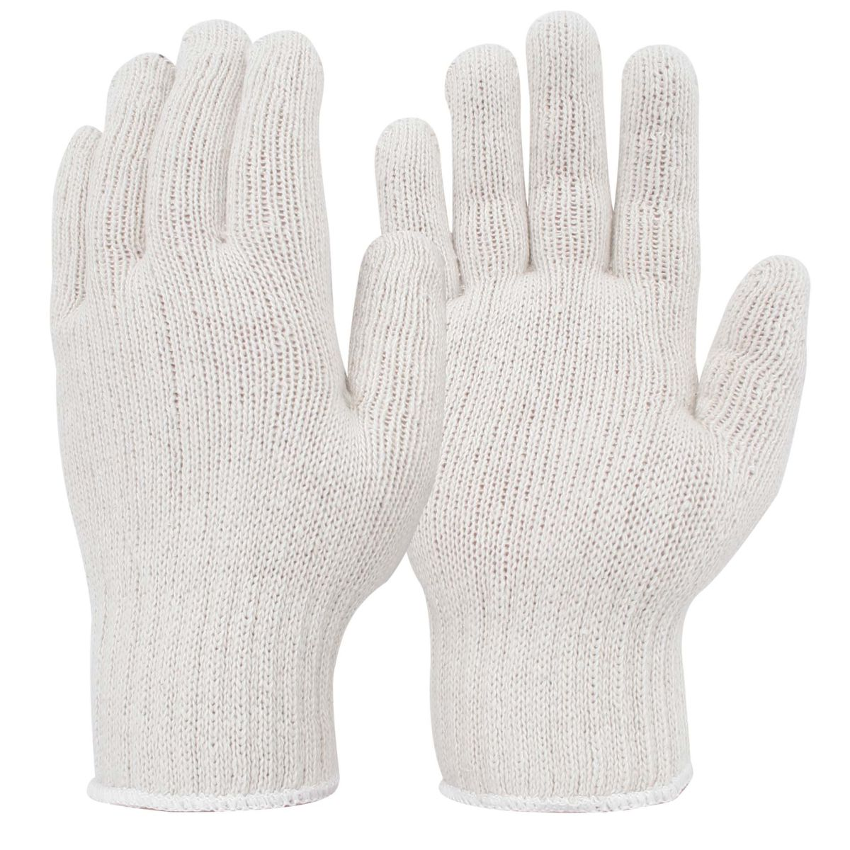 White Knitted Hand Protection